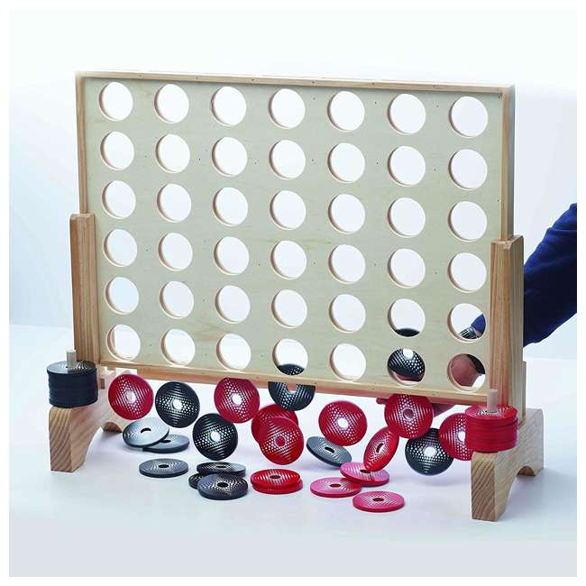 51202 Franklin Sports Jumbo Connect 4 Game Set 1
