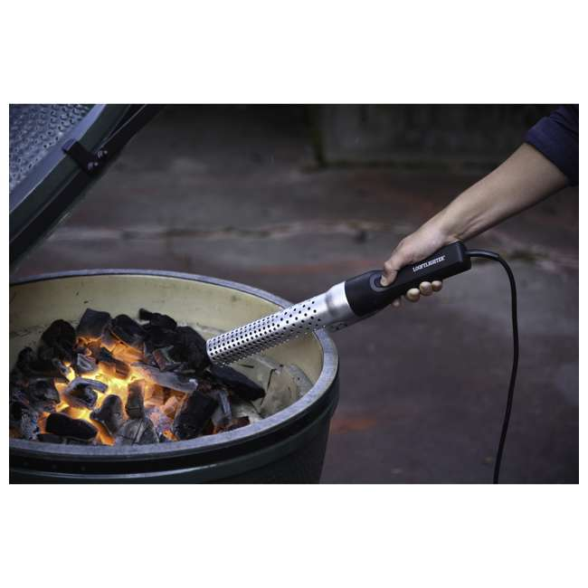 LL2005 Looftlighter LL2005 60 Second Fast Charcoal Grill Electric Lighter & Firestarter 1