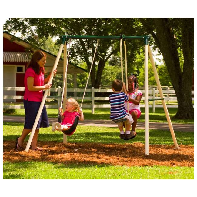 49100 Flexible Flyer Play Now & More Swing Set