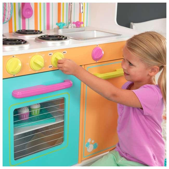 KidKraft Big & Bright Kids Pretend Play Kitchen & Bonus 27 ...