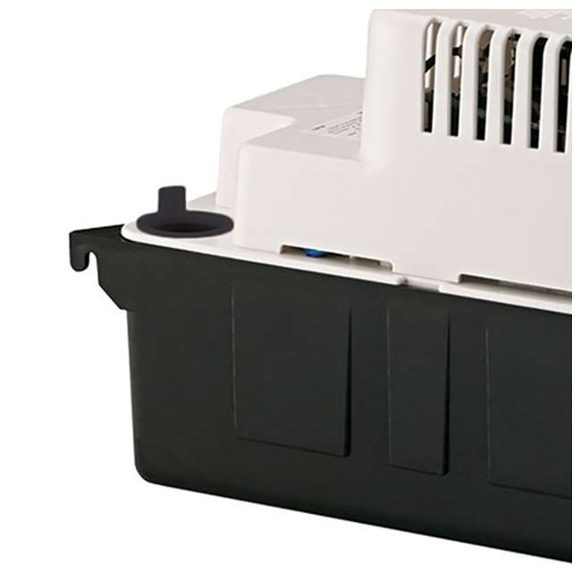 10 x LG-554425 Little Giant 1/30 HP 1/2 ABS Gallon Tank Condensate Removal Pump (10 Pack) 5