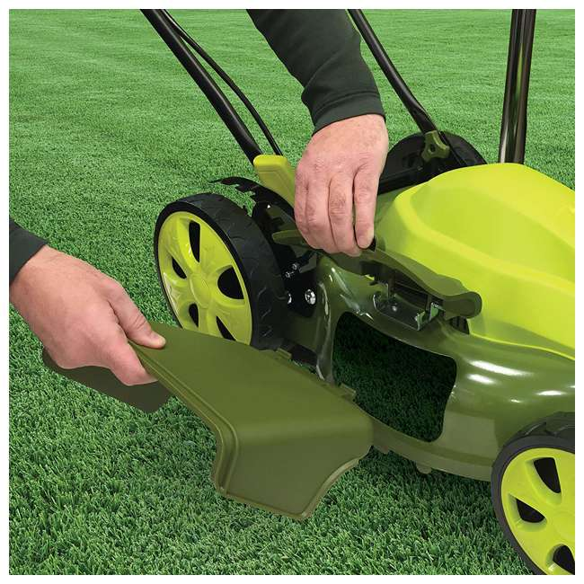 SUJ-MJ408E Sun Joe SUJ-MJ408E 20 Inch 12 AMP 7 Position Electric Walk Behind Lawn Mower 4