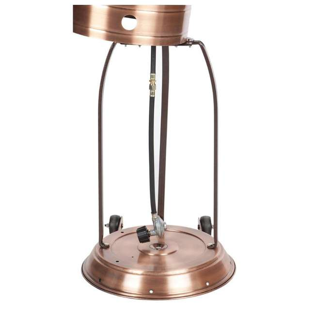 60688 Fire Sense Commercial Patio Heater, Copper Finish 5