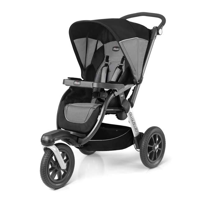 CHI-0707967397-OB Chicco Activ3 Air Jogging Stroller, Q Collection (Open Box)