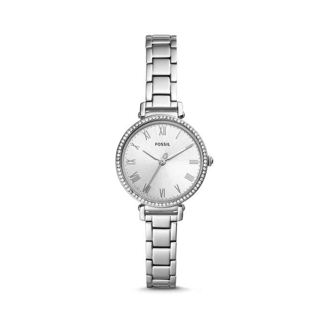 ES4448 Fossil The Kinsey 3-Hand Watch with Silver Bracelet & Face