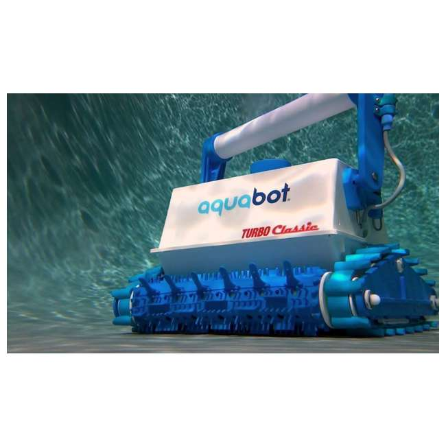 ABT-TURBO-OB Aquabot Turbo Classic In-Ground Robotic Swimming Pool Cleaner (Open Box) 2