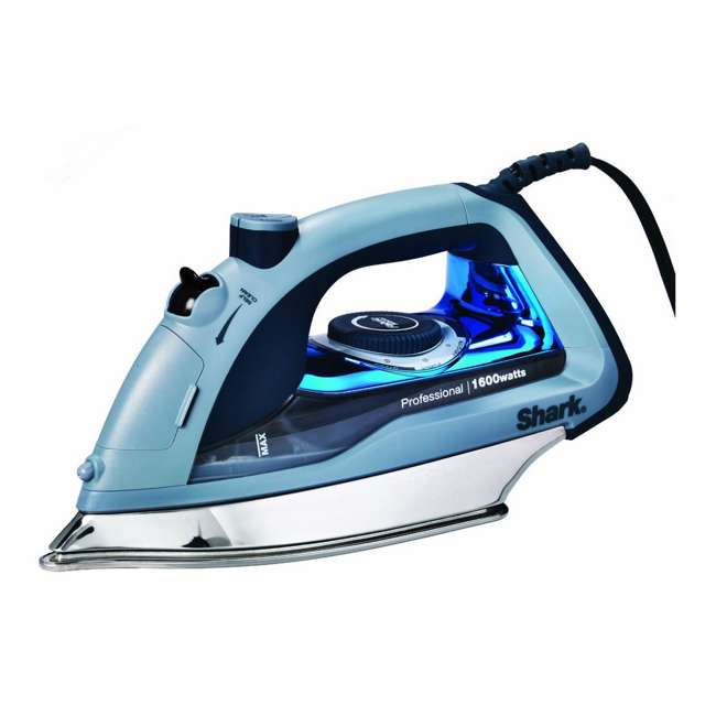 GI405 NEW Shark GI405 Professional 1600W One-Touch Steam Stainless Steel Power Iron