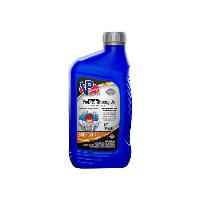 12 x 2745 VP Racing Fuels 2745 Full Synthetic Pro Grade Racing Oil, Quart Bottle 10W-40 (12 Pack) 1