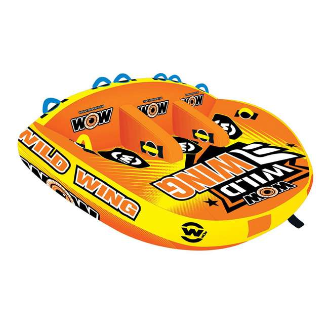 18-1130 World of Watersports Wild Wing 2 Rider Inflatable Tube 1