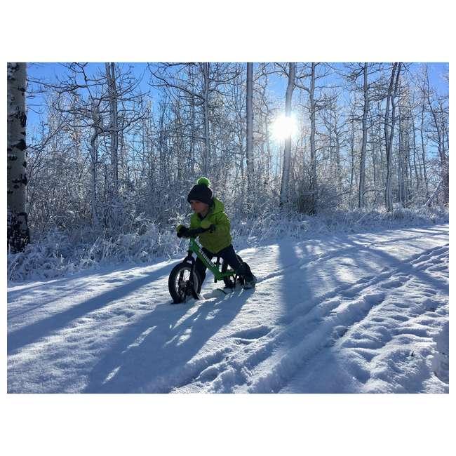 ST-S4RD + PSKISET-12-BK Strider 12 Sport Balance Kids Learning Bike, Red + Strider 12 Inch Bike Snow Ski Set  11