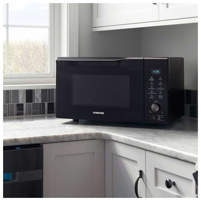 MC11K7035CG-RB Samsung 1.1 Cubic Foot Countertop Microwave Oven, Silver (Certified Refurbished) 5