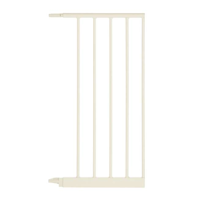 NS-4978 + NS-4974 North States Portico Arch Tall & Wide Safety Gate & 13.42 Inch Extension, Ivory 10