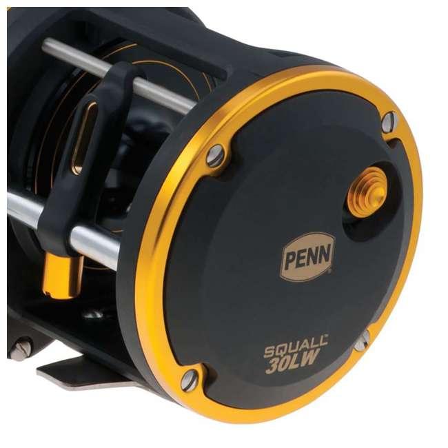 SQL30LW2050C66 Penn SQL30LW2050C66 Squall Levelwind Saltwater Trolling Fishing Reel & Rod Combo 4
