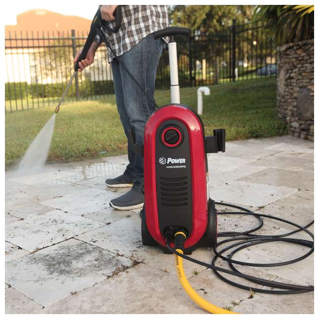 NXG-2200R-U-A Bloom USA 2200 PSI 1.76 GPM 14.5 Amp Electric Pressure Power Washer (Open Box) 7