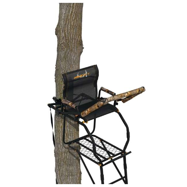 MUD-MLS1300 17 Foot Muddy Outdoors Excursion Ladder Stand Black