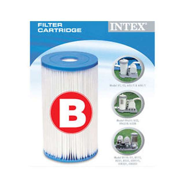 58095E-BW Bestway Swimming Pool Filter Replacement Cartridge Type IV / B  (2 Pack) 3
