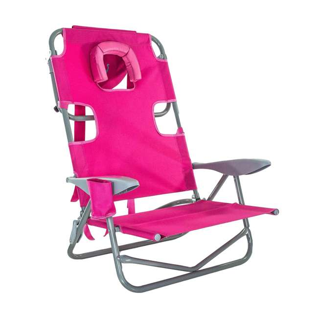 OYB-1003P Ostrich On-Your-Back Reclining Lounge Beach Chair 1
