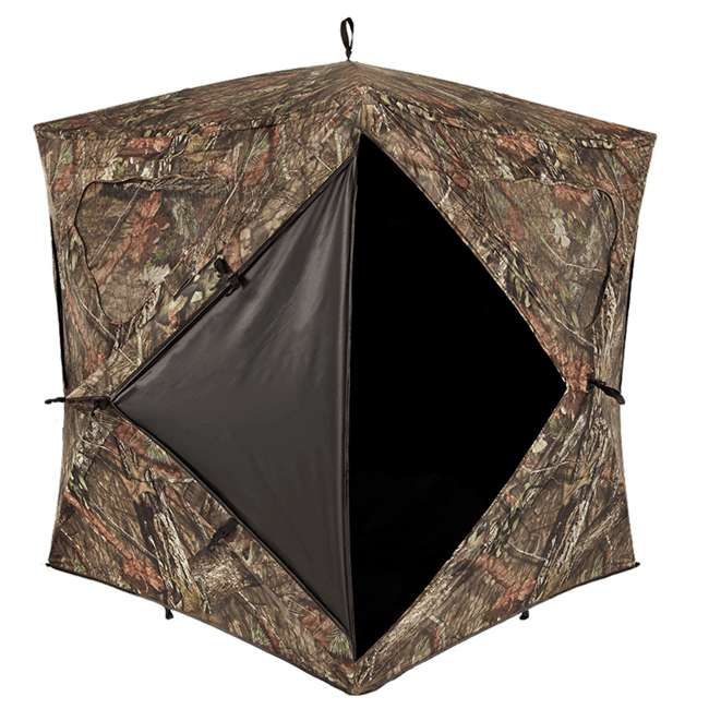 AMEBL3002-U-A Ameristep Durashell Plus Shell Silent Brickhouse Hunting Ground Blind (Open Box) 3