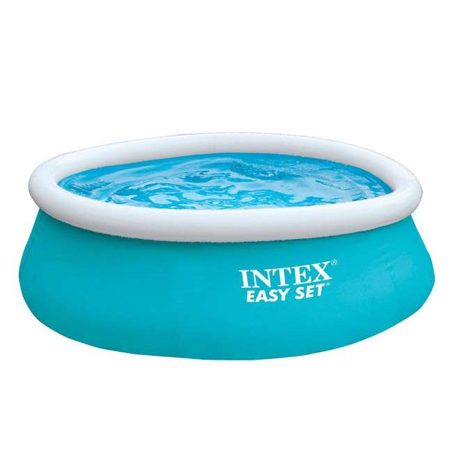 Intex 6 39 x 20 easy set inflatable swimming pool 28101eh for Swimming pool set angebot