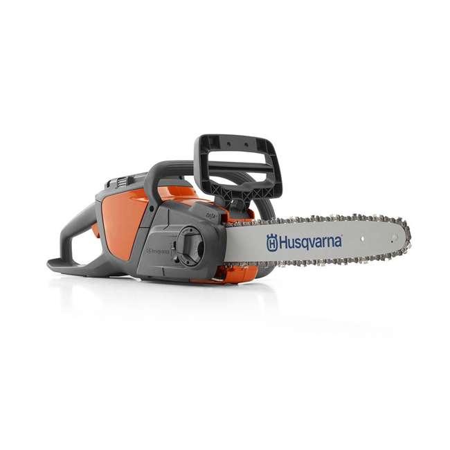 HV-CS-967098102 + HV-TOY-522771104 Husqvarna 14-Inch Brushless Chainsaw and 440 Toy Childrens Chainsaw, Orange 4