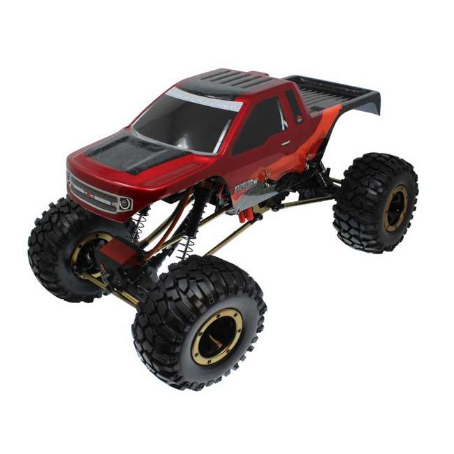 EVEREST-10-RedBlack Redcat Racing Everest-10 1:10 Scale Rock Crawler Electric RC Truck, Red/Black