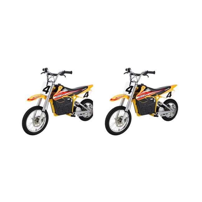 15165070 Razor MX650 Dirt Rocket High-Torque 36-Volt Electric Motorcycle Bike (2 Pack)
