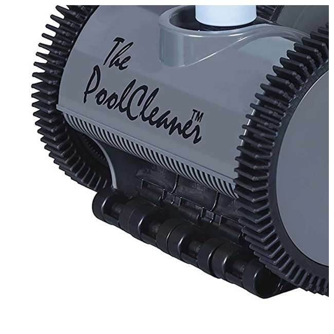 POOLV-0525 Hayward Poolvergnuegen Automatic 4-Wheel Suction Pool Cleaner, Gray (2 Pack) 3