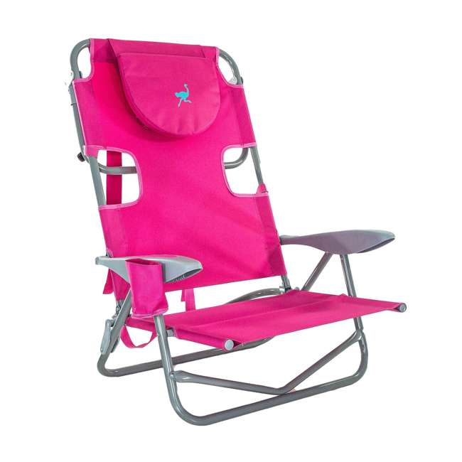 OYB-1003P Ostrich On-Your-Back Reclining Lounge Beach Chair