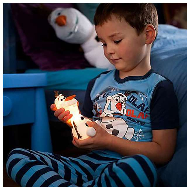 PLC-799965 + PLC-7176803U0 Philips Disney Frozen Olaf and Elsa Kids Soft Pals Nightlight Friend 6