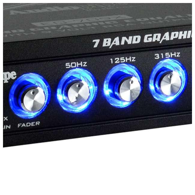 EQ-709X Audiopipe EQ-709X 7-Band Parametric Graphic Car Audio Equalizer 3