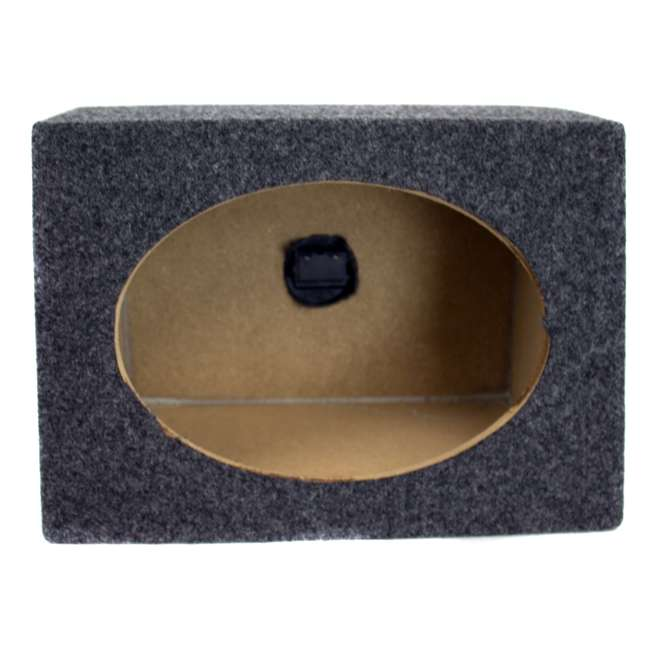 TW6X9 Q-Power 6 x 9 Car Audio Speaker Box Enclosures, 2 Speakers 2