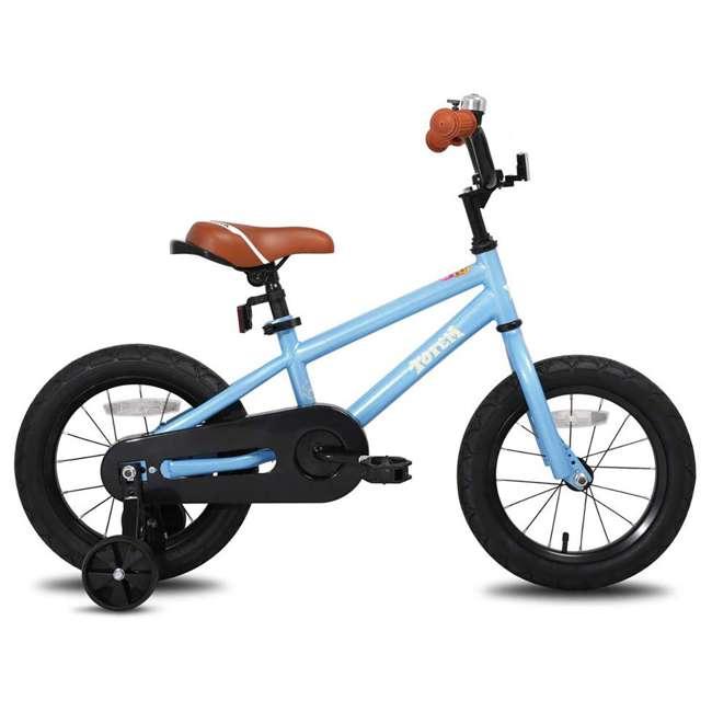 BIKE016-18 JOYSTAR Totem Series Premium Steel Body 18-Inch Kids Bike with Kickstand, Blue 1