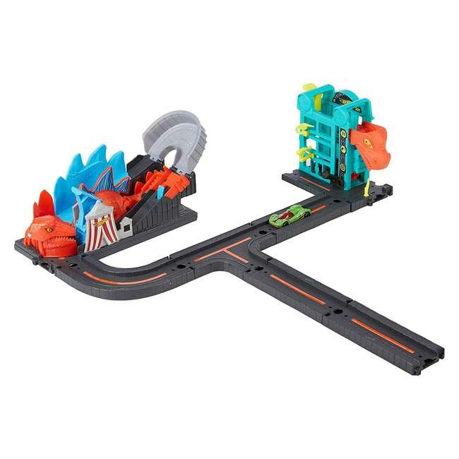 GGR43 Hot Wheels GGR43 Ultimate Nemesis Race Car Rollercoaster Track Play Set Bundle 3