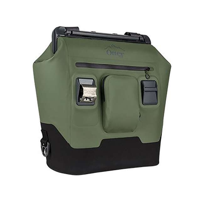 77-57014 OtterBox 30-Quart Softside Trooper Cooler with Carry Strap, Alpine Ascent Green 3
