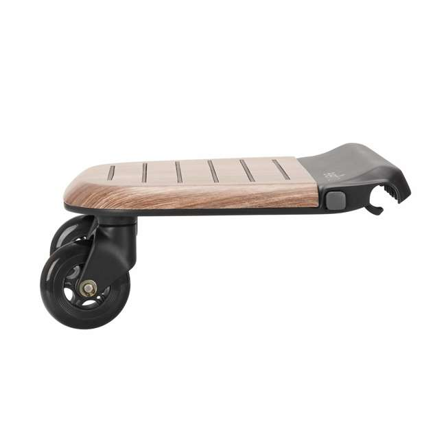 630439 Evenflo Stroller Stand and Ride Rider Board Accessory Attachment Only, Wood 1