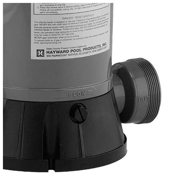 6 x CL2002S Hayward Pool In-Line Chemical Trichlor Chlorine Feeder (6 Pack) 5