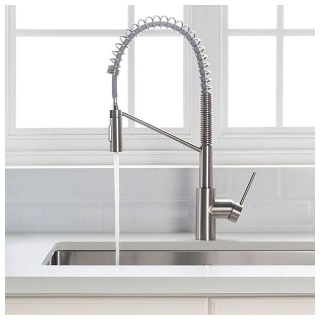 KPF-2631SFS [Copy 2] Kraus Oletto Kitchen Faucet, Spot Free Stainless Steel(Open Box) 1