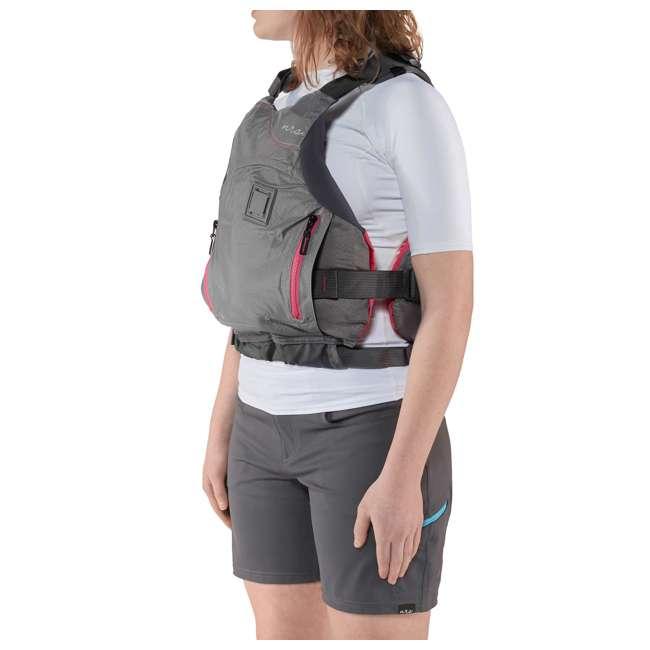 NRS_40036_02_100 NRS Women's Siren PFD Life Jacket, Charcoal, XS/Medium 4