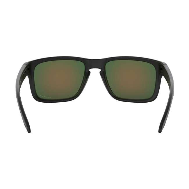 OO9102-E255 Oakley OO9102-E255 Standard Fit Holbrook Sunglasses, Matte Black/Prizm Ruby 2
