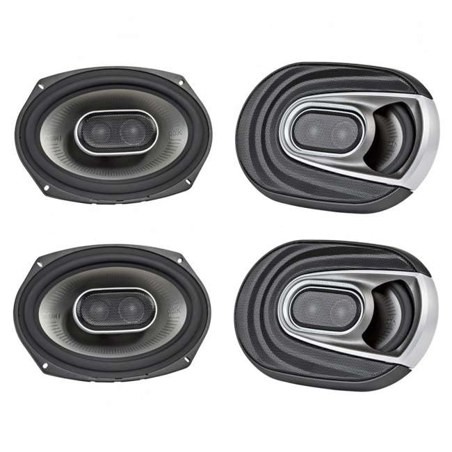MM692 Polk Audio MM1 Series 6x9-Inch 450-Watt Coaxial Speakers (2 Pack)