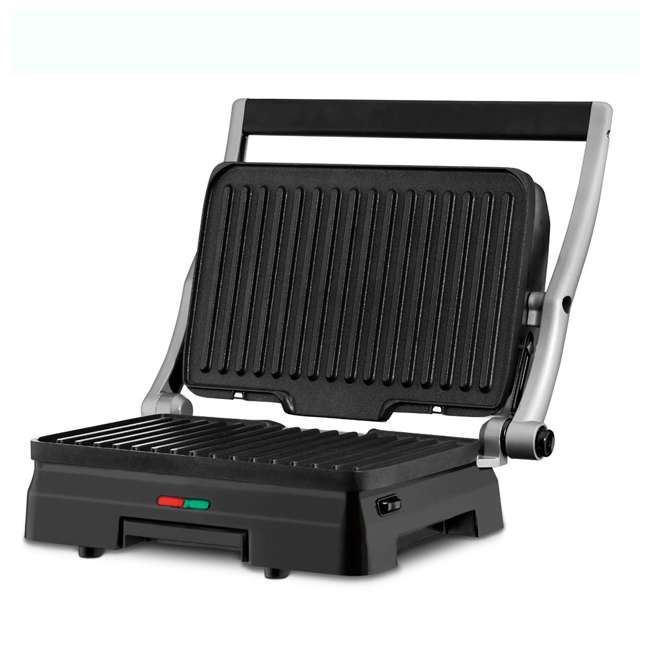GR-11-RB Cuisinart Stainless Steel Griddler Grill & Panini Press (2 Pack) (Certified Refurbished) 4