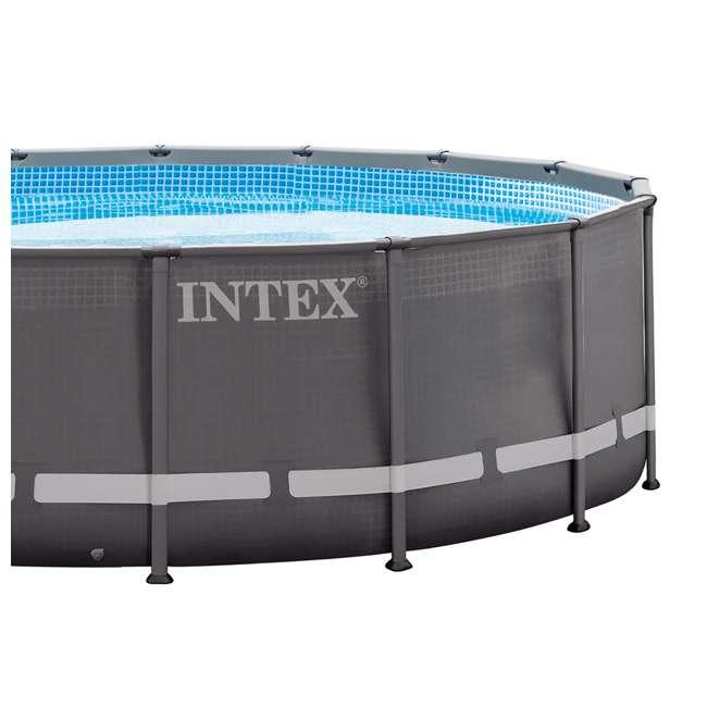 "28323EH Intex 16' x 48"" Ultra Frame Swimming Pool Set & 1200 GPH Sand Filter Pump 4"