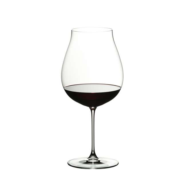 6449/67 Riedel Veritas Crystal New World Pinot Noir Red Wine Glass, 28.21 Oz. (2 Pack) 1