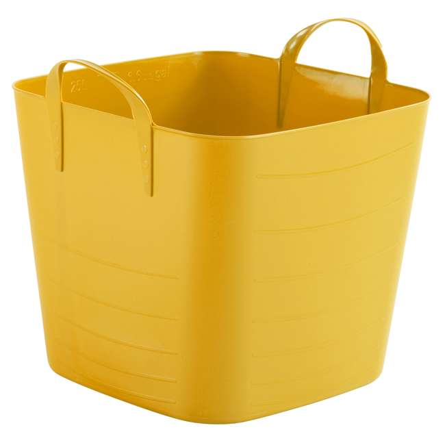 6 x Tub 40L-U-A Life Story 10.5-Gallon Storage Tote with Handles (6 Pack) (Open Box)