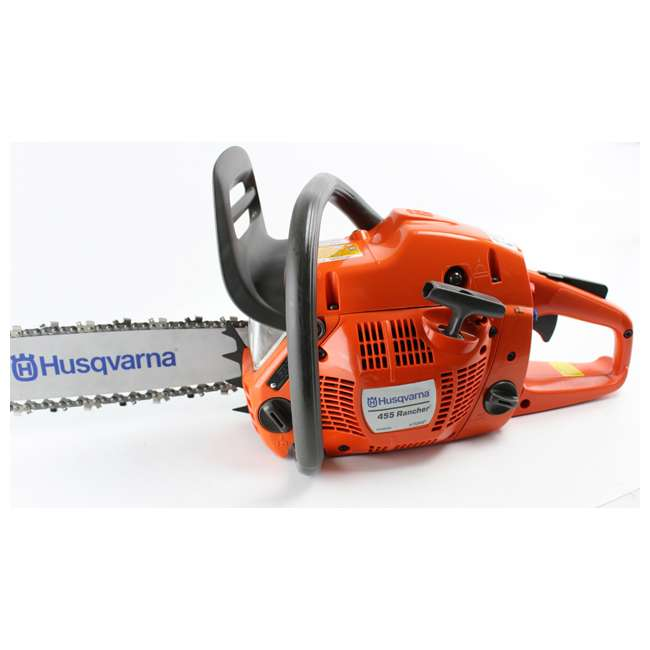 952991650-BRC-RB HUSQVARNA 455R Rancher 20-Inch 56cc Gas Powered Chainsaw (Refurbished) 1