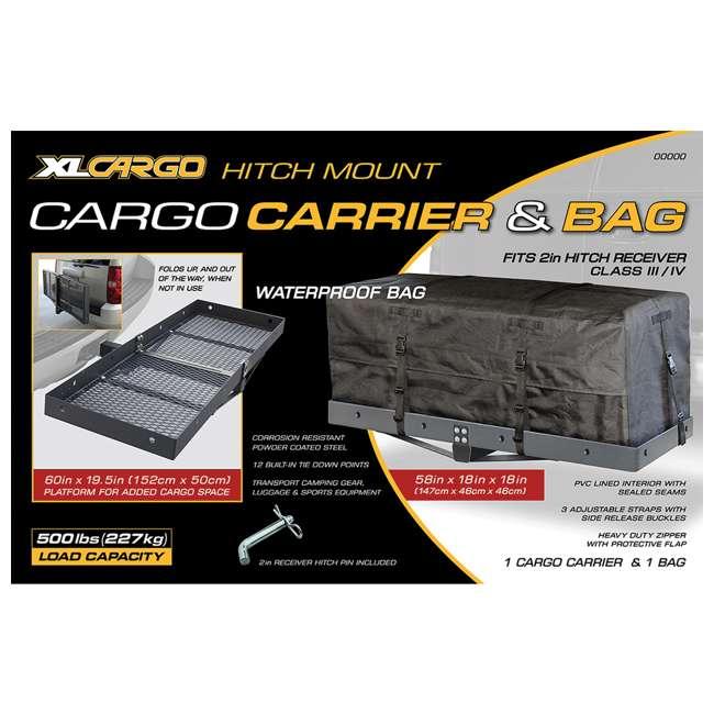 CARGO-32501 CargoLoc 32501 Hitch Mount for Receiver Class III & IV  1