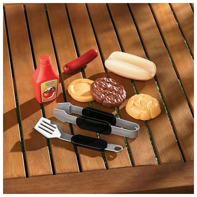 624483X1 Little Tikes Backyard Barbecue Get Out 'N' Grill Set 2
