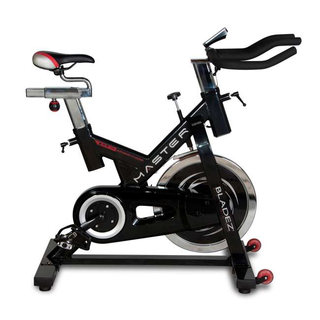MASTER GS Bladez Master GS LED Console Adjustable Seat Racing Design Stationary Bike 1