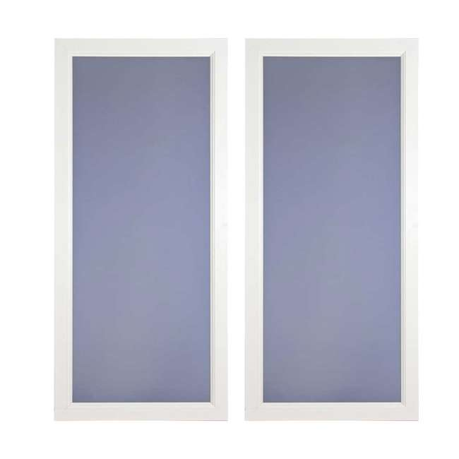 CE59FV032R Larson Envision Series Fullview Right Hinged 36-Inch Storm Door (2 Pack)