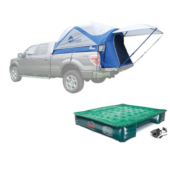 57011 + PPI PV203C Napier Sportz 57 Series Truck Tent & AirBedz Air Mattress